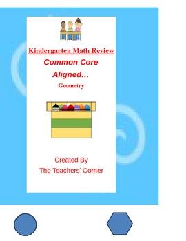 Common Core Kindergarten Math Review: Geometry