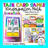 KINDERGARTEN Math Task Card Games- Growing Bundle