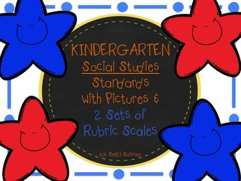 SOCIAL STUDIES GOALS NOW WITH 2 SETS of RUBRICS AND GRAPHICS