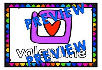 FEBRUARY ACTIVITIES KINDERGARTEN (VALENTINE'S DAY PLAYDOUGH MATS)