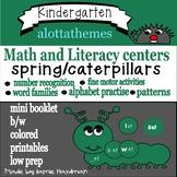 KINDERGARTEN - spring/caterpillars