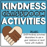 Distance Learning - Kindness Activity Bundle