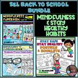 Superheroes Wear Masks SEL STAY HEALTHY SAFETY POSTERS BUNDLE