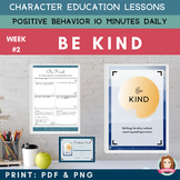 KINDNESS - Positive Behavior | Daily Character Education |