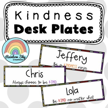 editable desk name tags teaching resources teachers pay teachers