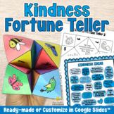 KINDNESS FORTUNE TELLER Cootie Catcher - Social Emotional