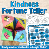 KINDNESS FORTUNE TELLER Cootie Catcher - Social Emotional Learning Craft & Game