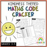 KINDNESS Math Crack the code