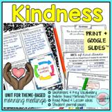 KINDNESS Morning Meeting w Digital Morning Meeting Slides