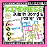 KINDNESS Poster and Action Cards Challenge EDITABLE