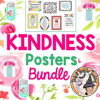 KINDNESS Posters BUNDLE BE KIND Motivational Quotes Posters Savings $ Bundle