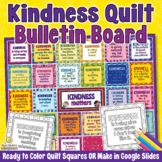 KINDNESS QUILT Growth Mindset Bulletin Board and Friendshi