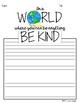 KINDNESS WRITING ACTIVITY, SKETCHNOTES, QUOTES, CHOICES