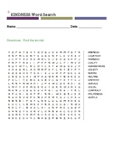 KINDNESS Word Search