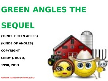KINDS OF ANGLES SONG