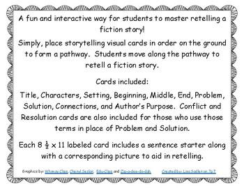 KINESTHETIC ACTIVITY Retelling a Fiction Story
