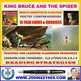 KING BRUCE AND THE SPIDER - WORKSHEETS WITH ANSWERS