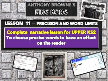 KING KONG - LESSON 11 - PRECISION OF LANGUAGE