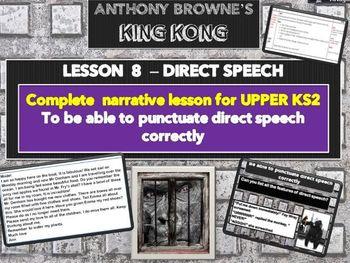 KING KONG - LESSON 8 - DIRECT SPEECH