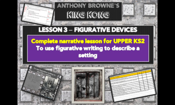 KING KONG - Lesson 2 -Expanded noun phrases -FREE SAMPLE LESSON