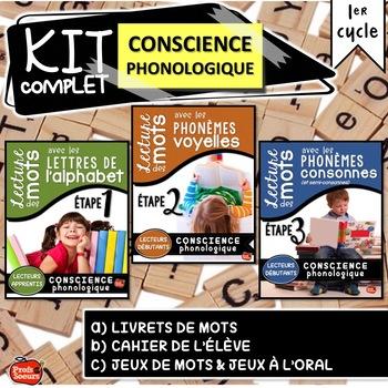 French phonics : Conscience phonologique en français / French Sounds book