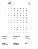 KITE FLYING DAY! FEBRUARY 8TH - HAVE FUN/ WORD SEARCH