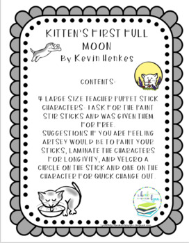 KITTEN'S FIRST FULL MOON TEACHER STICKS