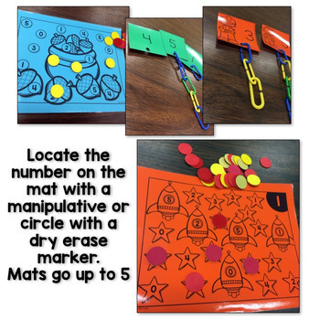 Kindergarten Math Intervention - Set 1