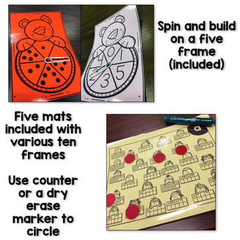 Kindergarten Math Intervention - Set 1
