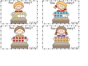 Kindergarten Math Task Cards