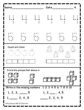 Kindergarten Morning Brain Busters- Bell Ringers / Morning Work / Math & ELA