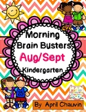 Kindergarten Morning Brain Busters- Bell Ringers / Morning