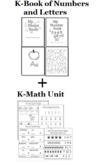 KIndergarten Numbers, Letters, Shapes, Math Bundled