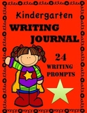 Kindergarten Writing Journal and Prompts