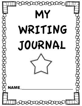 Kindergarten Writing Journal and Prompts