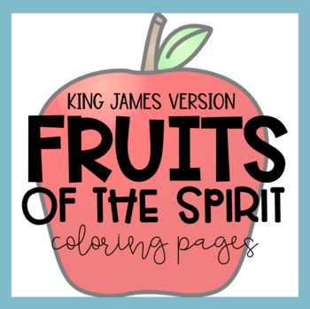 KJV Fruits of the Spirit Coloring Pages