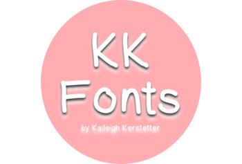 KK Fonts- Chunky Brushstroke
