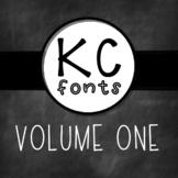 KC Fonts : Volume One