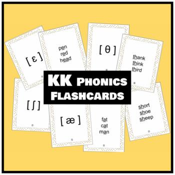 KK Phonics Flashcards