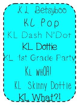 KL Fonts