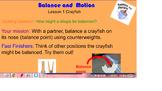 KLEWS: Second Grade Balance Slides