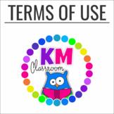 KM Classroom Terms of Use - TOU