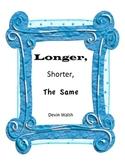 K.MD2 Longer,Shorter, the Same