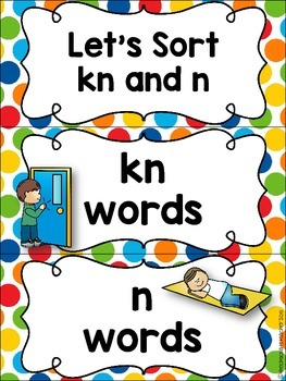 KN Phonics Activities Free Download