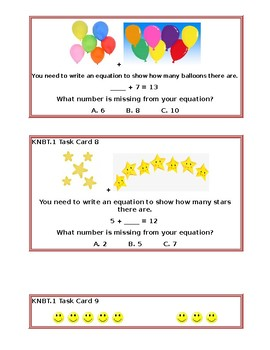 KNBT.1 Task Cards