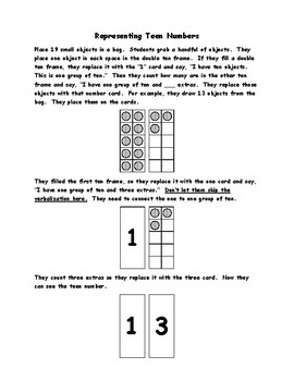 KNBT1 - Teen Numbers Games, Activities and Worksheets
