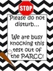 KNOCK THIS TEST OUT OF THE PARCC