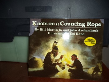 KNOTS ON A COUNTING ROPE  ISBN 0-590-99448-4