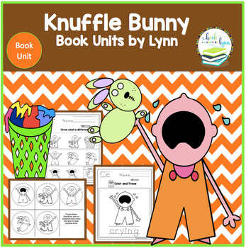 KNUFFLE BUNNY A CAUTIONARY TALE BOOK UNIT