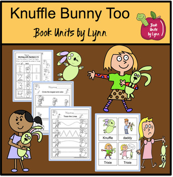 KNUFFLE BUNNY TOO  BOOK UNIT